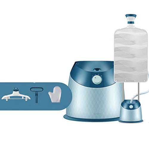 FSJD Pequeña máquina de Planchar Colgante, Plancha de Vapor doméstica, máquina de Planchar, Doble Barra Vertical Reforzada, Ajuste de Vapor de 3 Engranajes, eliminación rápida de Arrugas