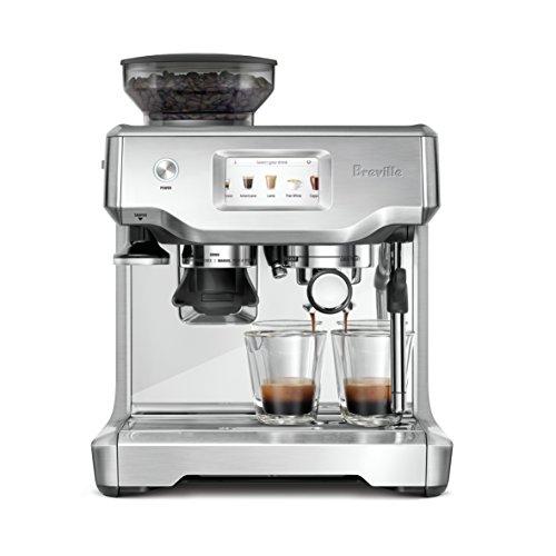 Breville BES880BSS Barista Touch Espresso Machine, Stainless Steel