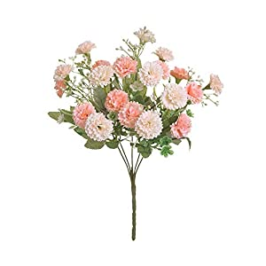 Artificial and Dried Flower 20 Heads Artificial Small Lilac Flower Fake Silk Flower Home Garden Decoration Party Supplies Photography Props