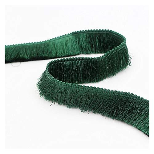 Cordón 5 yardas / lote Espesor barato Adornos de borla de 2,8 cm de ancho Cortina de poliéster / almohada Pendiente de recorte / bolso Costura decorativa de encaje Sin decoloración, sin arrugas, suave