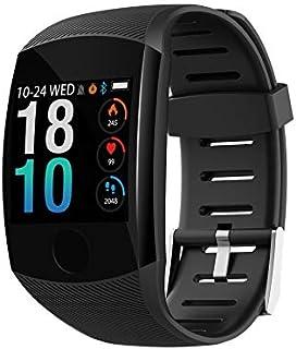 LINGJIA Pulsómetros Ip67 Impermeable Frecuencia Cardíaca Monitoreo De La Presión Arterial Múltiples Modos Deportivos Reloj De Espera Largo para Android iOS