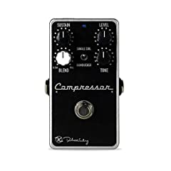 Rackmount JFET compression in a compact pedal Sustain, Level, Blend, Tone and Attack/Release controls True bypass Made in the U.S.A. The Keeley Compressor Plus will help you on your quest for achieving the very best tone This pedal will smooth out yo...