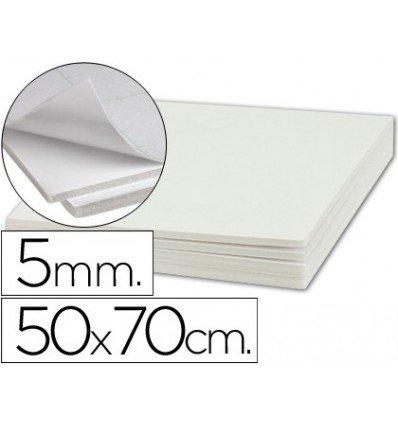 Liderpapel - Carton pluma adhesivo 1 cara 50x70 cm espesor 5 mm (10 unidades)