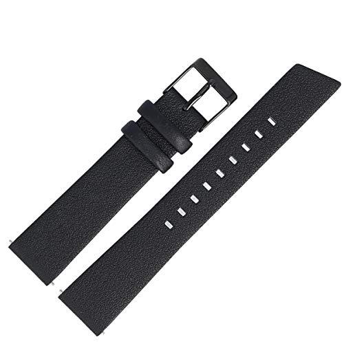 Liebeskind Berlin Uhrenarmband 18mm Leder Schwarz - Uhrband 134