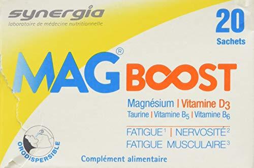 Mag Boost bolsitas - magnesio liposomal ❀ natural ❀, taurina y vitaminas B - Certificado de origen francés ✓