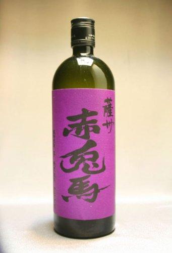薩州 赤兎馬 紫芋使用 芋焼酎 濱田酒造 25度 720ml