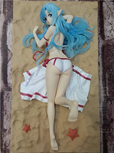 Anime Schwert Art Online Statue SAO Asuna Bikini Version Fee Wasser 23 cm PVC Action Figure Puppe