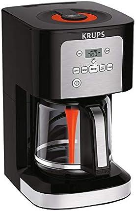KRUPS 7211002967 EC321 - Cafetera (12 tazas), color negro