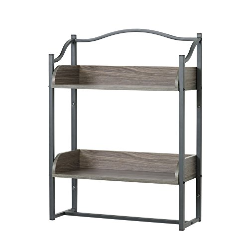 Bathroom Decorative Shelf Gray - Zenna Home