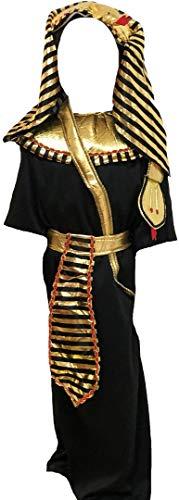 Petitebelle Disfraz de faran de Egipto para 4-12 aos (faran, 10-12 aos)