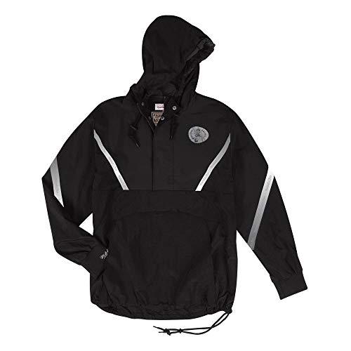 Mitchell & Ness Celtics Mens Reflective Anorak Half Zip Jacket (Large)