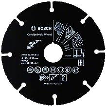 Bosch Professional Disco de corte Carbide Multi Wheel Multi Material, Ø 125 mm, accesorio para amoladora angular