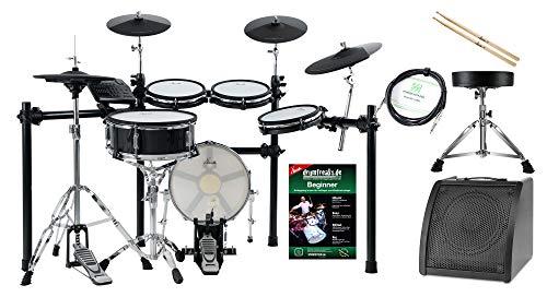 XDrum DD-650 Mesh E-Drum Kit Live Set - elektronisches Schlagzeug mit echter HiHat - 14