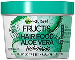 Garnier Fructis Aloe Vera Hair Food 3 in 1 hydrating Mask for normal to dry hair 390ml