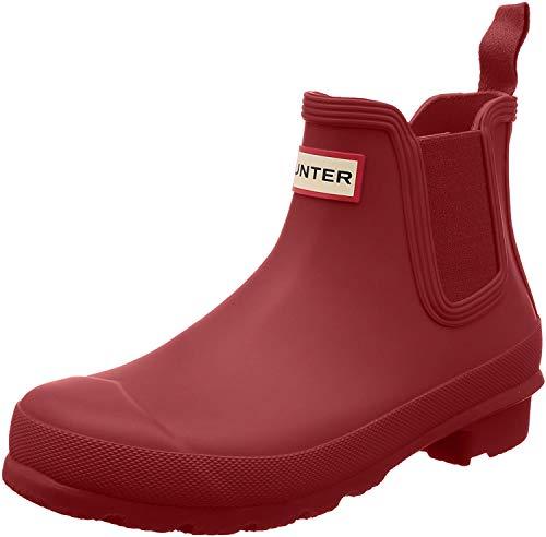 Hunter Womens Original Chelsea Military Red Rubber Boots 40/41 EU