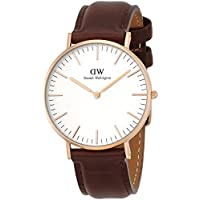 Daniel Wellington(ダニエルウェリントン) 腕時計 クラシック 36mm 0511DW レザー バンド 腕時計 並行輸入品 [並行輸入品]