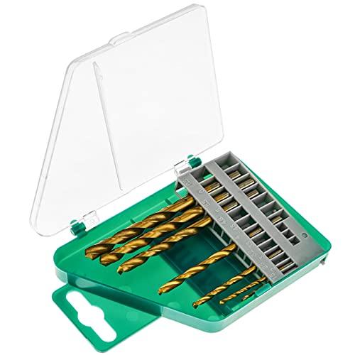 BeMatik - Brocas para Metal y Madera. Caja de 7 Brocas pequeñas 1.5-6.0