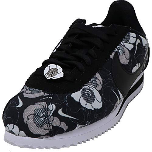 Nike Wmns Classic Cortez LX, Zapatillas de Atletismo Mujer, Negro (Black/Black/White 1), 38.5 EU
