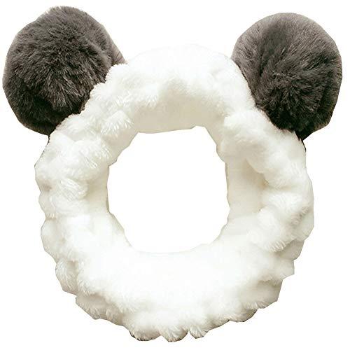 Accessoires de cheveux pour le lavage du visage, Douche, Maquillage, Spa Fashion Cute Ear Headband # 1