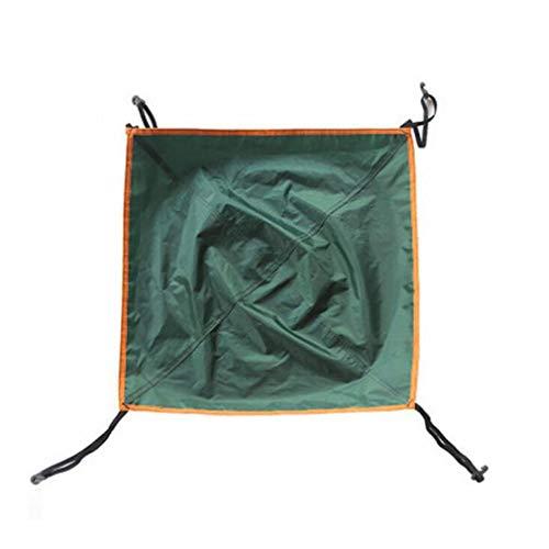 Yeucan Automatic Zelt Kopfbedeckung Oxford Cloth Outdoor 3-4 Personen Leichtes Reisen Wandern Camping Zubehör,Grün