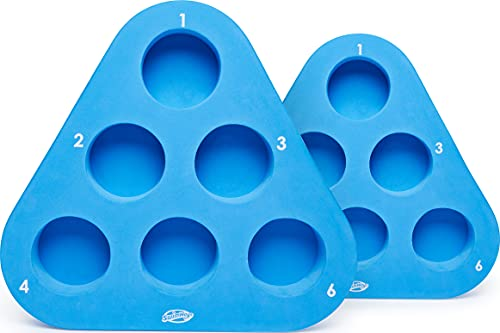 SwimWays Kelsyus Floating Beer Pong Adult Drinking Game Set, Color May Vary