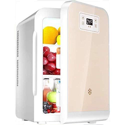 Fee-ZC Draagbare, stille minibar, 22 liter, mini-compact, met digitaal display, koelkast, geluidsarm en warmer auto mini-koelkast vrieskast