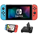 Nintendo Newest Switch with Neon Blue...