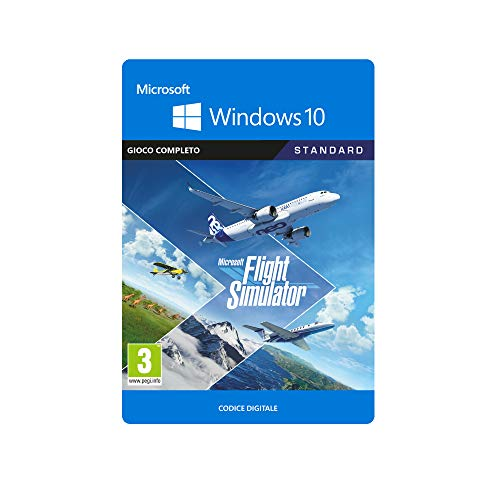 Microsoft Flight Simulator Standard, Codice per PC, Windows 10