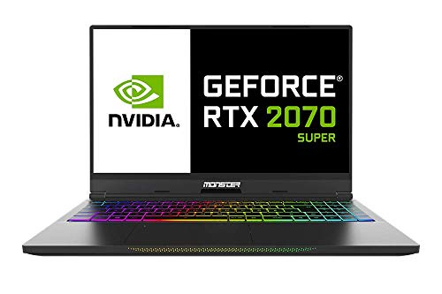 Monster Tulpar T5 V21.2 Gaming Notebook, Intel Core i7 10875H CPU, 32GB RAM, 1TB SSD, Nvidia GeForce 8GB RTX-2070 SUPER, Windows 10 Home, 15.6'' FHD 240HZ IPS-LED