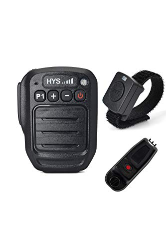 Great Features Of HYS IP66 Waterproof Wireless Bluetooth Shoulder Speaker Microphone with Wireless F...