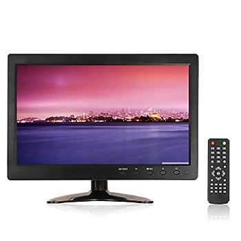 10.1  LED TFT Small TV Monitor PC Monitor 1366 x 768 Computer Monitors HDMI Industrial LED Screen Display with BNC/AV/VGA/HDMI/USB/Speaker for Raspberry Pi PC Display