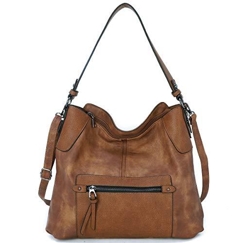 KL928 Bolso de mano para mujer, bolso de hombro, bolso de mano de mujer, bolso de mano de piel sintética, elegante bolso para mujer