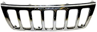 OE Replacement Jeep Cherokee/Wagoneer Grille Assembly (Partslink Number CH1200221)