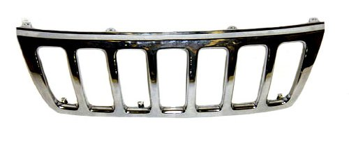 Sherman Replacement Part Compatible with Jeep Cherokee-Wagoneer Grille Assembly (Partslink Number CH1200221)