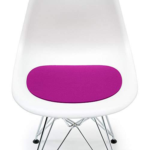 Hey Sign Sitzauflage pink mit Antirutsch für Eames Plastic Side Chair