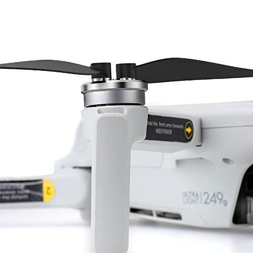 CUEYU 4 Stück Metall Motor Abdeckungen für DJI Mavic Mini Drone, Metal Motor Covers Staubdichte Schutzhülle Kompatibel mit DJI Mavic Mini Drohne