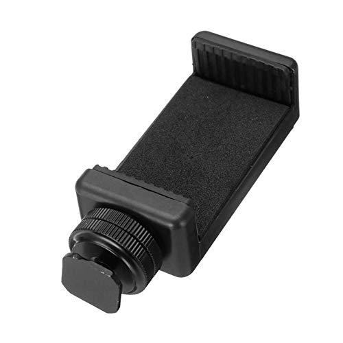 Accesorios de fotografía Universal del teléfono celular clip de pie con soporte de zapata tornillo adaptador sostenedor del trípode del montaje del clip de la cámara SLR DSLR Teléfono Para transmisión