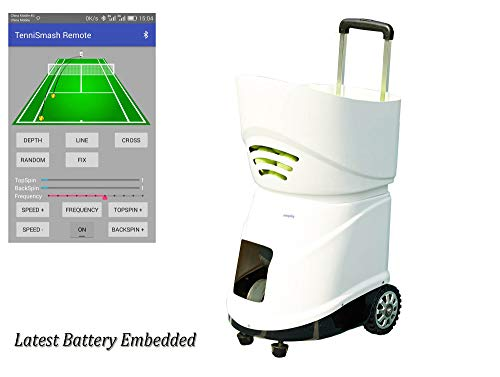 easyday Tennisball-Maschine Tragbare intelligente Tennis Ballwurfmaschinen Tennis Pitching Throwing Training Machine