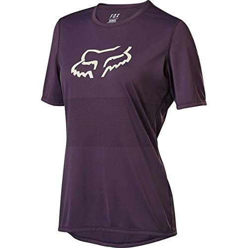 Fox Wmns Ranger Ss Jersey Dark Purple