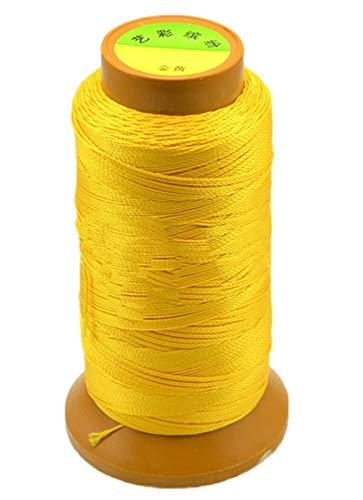 CHENGTAO Cordón De Algodón 0,2/0,25/0,5/0,7/0,8/1 Mm De Rosca Secuencia De La Cuerda Carrete De Alambre Encaja Rebordear Craft DIY Pulsera Collares Joyería (Color : 13, Size : 1MM 170Meters)