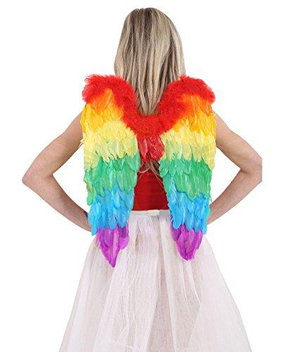 Islander Fashions Filles F�e Arc-en-Pliable Ange Ailes Fantaisie Party Costume Accessoire Une Taille 60X40