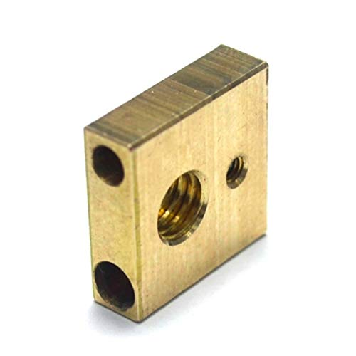 WNJ-TOOL, 1pc 3 UM3 Brass 3D Printer Heater Block