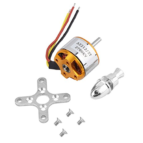 OLD TEUCER A2212/5T 2700KV Outrunner Brushless Motor for RC Airplane Aircraft Hobby