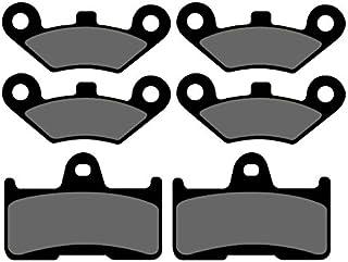 3x Bremsbeläge Ersatzteil für/kompatibel mit CF Moto CF800 2 C Force vorne + hinten