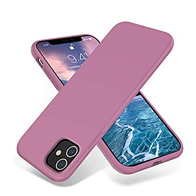 OTOFLY iPhone 11 Case,Ultra Slim Fit iPhone Case Liquid Silicone Gel Cover with Full Body Protection Anti-Scratch Shockproof Case Compatible with iPhone 11 (Lilac Purple)