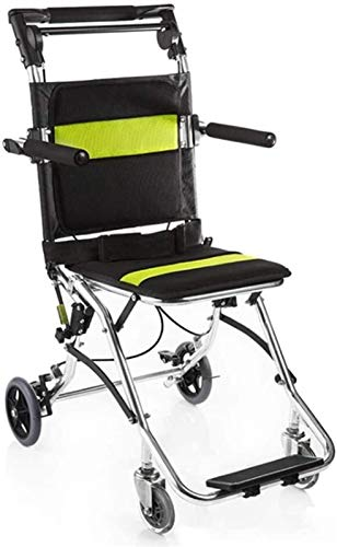 IWQTO Rollstühle, Medical Ergonomische Deck, Bequeme Armlehnen und der Rückenlehne Rollstuhl-Aufzug 200kg Tragfähige Stativ