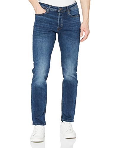 JACK & JONES Male Slim/Straight Fit Jeans Tim ORIGINAL AM 782 50SPS 3232Blue Denim