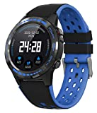 Smart Watch for Android Phone Fitness Tracker Heart Rate Monitor Phone GPS Sport Watch Compass Altimeter Pedometer Blood Pressure Waterproof Step Calorie iOS Bluetooth Watch for Men Women
