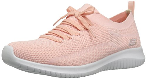 Skechers Damen Ultra Flex Statements-12841 Sneaker, Rosa (Light Pink), 39 EU