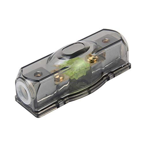 LYNQYG Zubehör Auto Auto Sicherungshalter Blade-Sicherungshalter Bolt-on-Sicherungshalter mit 100A Sicherung for Car Audio